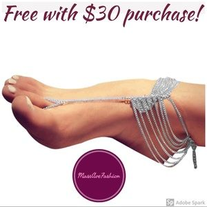 Jewelry - Multi-Layered Barefoot Sandal Ankle Chain